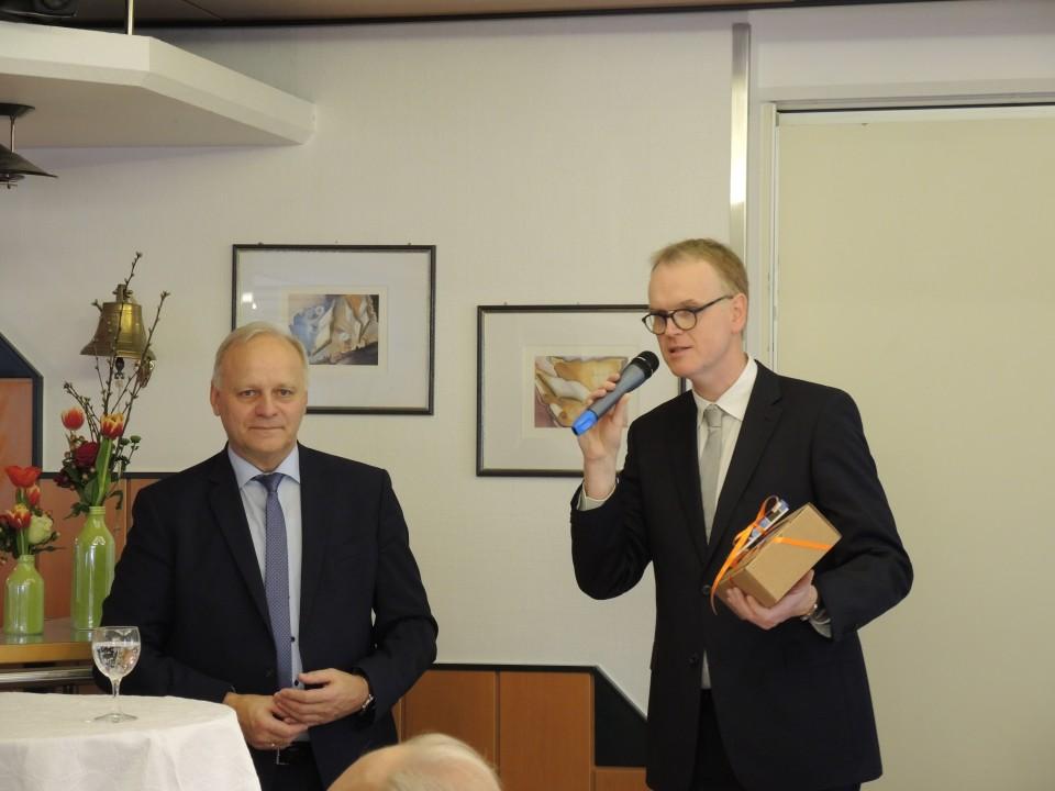 Michael Schichel und Johannes Röring