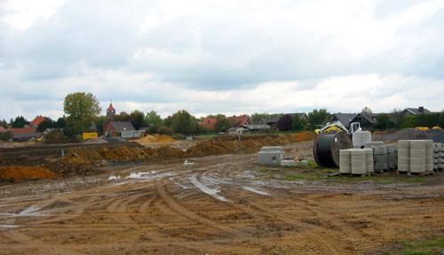 Neue Baugebiete haben das Kanalnetz in der Gemeinde um 10% vergrößert.