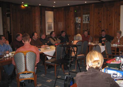 Die Mitglieder der CDU-Fraktion Südlohn-Oeding legten die Schwerpunkte für die Haushaltsberatungen 2007 auf einer Klausurtagung fest