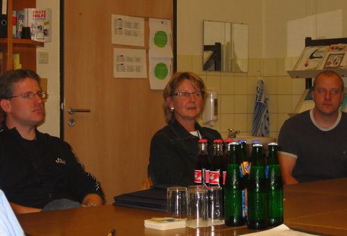 Die neue Schulleiterin Hildegard Köppen (Bildmitte) stand den Mitgliedern der CDU-Ratsfraktion als kompetente Gesprächspartnerin zur Verfügung.